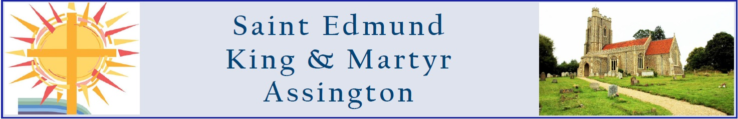 St Edmund King & Martyr, Assington logo